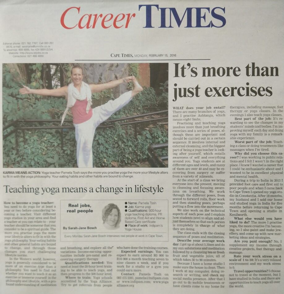 Career Times - It's more than just exercises